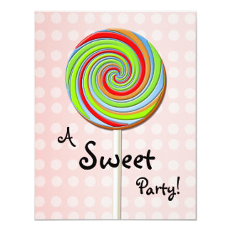 Sweet Party Invitation