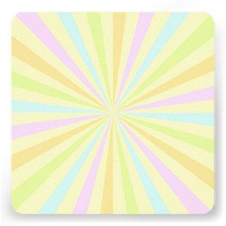 Sweet Pastels Spinning Wheel Burst Announcements