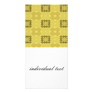 sweet pattern 06 personalised photo card