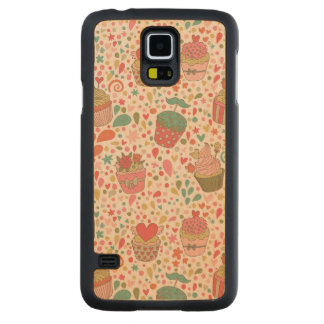 Sweet pattern maple galaxy s5 slim case