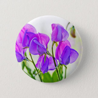 Sweet Pea 6 Cm Round Badge