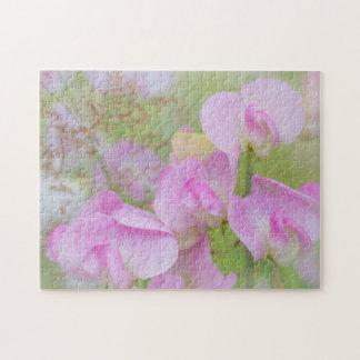 Sweet Pea Blossoms | Seabeck, WA Jigsaw Puzzle