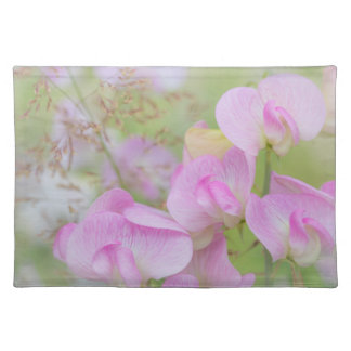 Sweet Pea Blossoms | Seabeck, WA Placemat