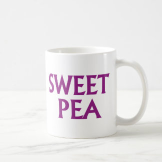 Sweet Pea Coffee Mug