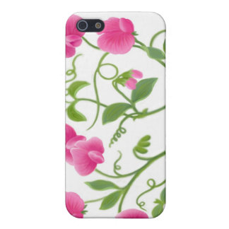 Sweet Pea Floral Vine Speck Case Case For The iPhone 5