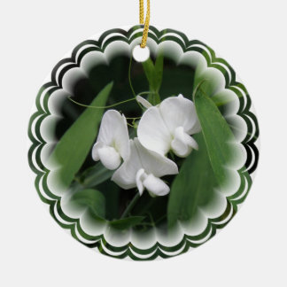 Sweet Pea Flower Ornament