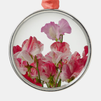 Sweet Pea Flowers Ornament