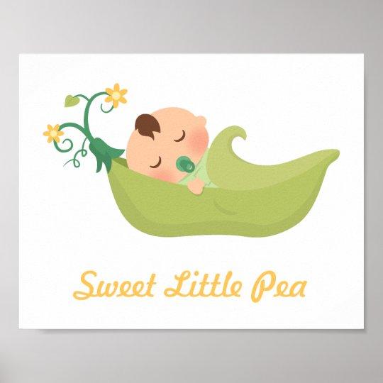 Sweet Pea in a Pod Baby Boy Nursery