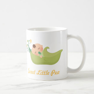 Sweet Pea in a Pod Cute Baby Boy Coffee Mug