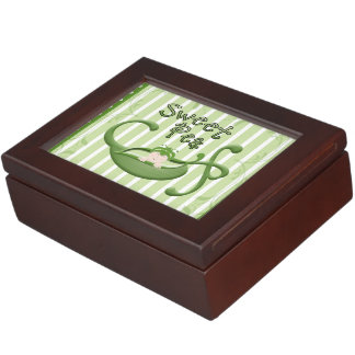 Sweet Pea Keepsake Box