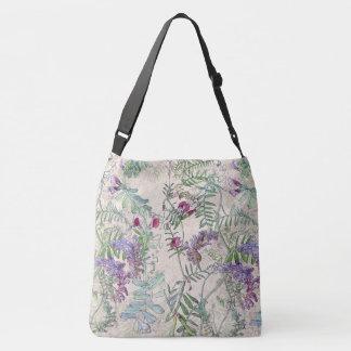 Sweet Pea Lathyrus Wildflower Flowers Tote Bag