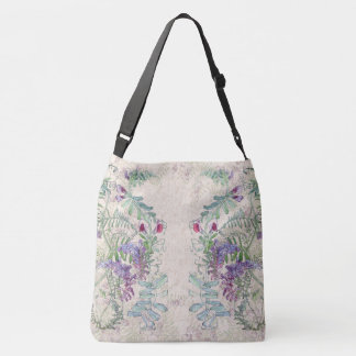 Sweet Pea Lathyrus Wildflower Flowers Tote Bag