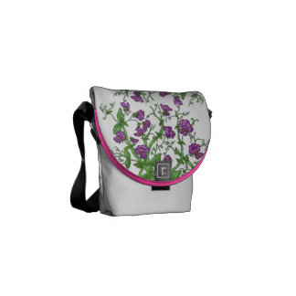 Sweet Pea Courier Bag