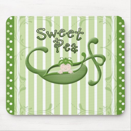 Sweet Pea Mousepads
