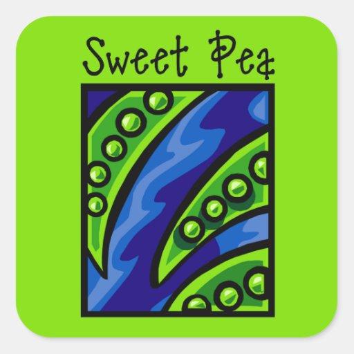 Sweet Pea Sticker