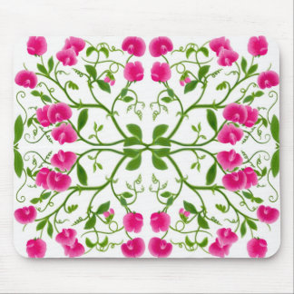 Sweet Pea Vines Mousepad