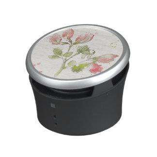 Sweet Pea watercolor Bluetooth Speaker