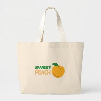 SWEET PEACH JUMBO TOTE BAG