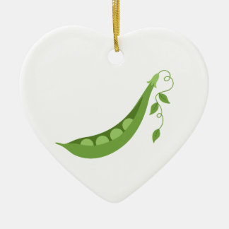 Sweet Peas Christmas Ornament