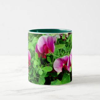 Sweet Peas design mug