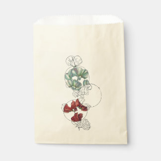 sweet peas favour bags