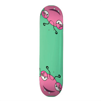 Sweet Peeking Girly Monster Skate Board Decks