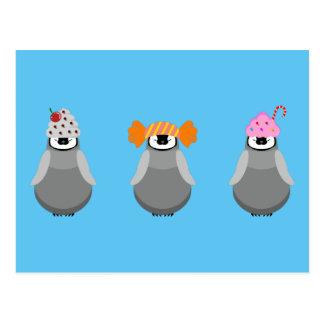 Sweet Penguins Postcard