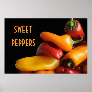 Sweet Peppers Print