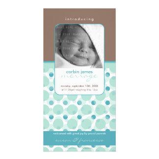 SWEET PHOTO BIRTH ANNOUNCEMENTS :: hello baby 1 Custom Photo Card