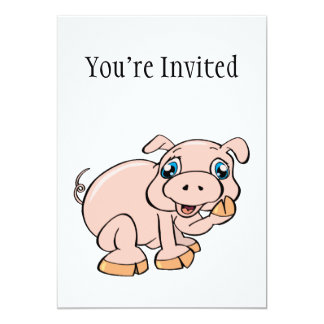 Sweet Piggy Invite