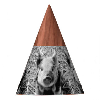 Sweet Piglet Party Hat