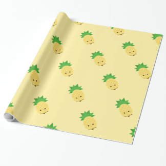 Sweet Pineapple cute wrapping paper