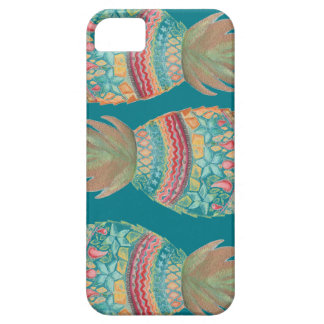 Sweet Pineapple Iphone case In Aqua