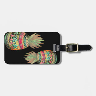 Sweet Pineapple Luggage Tag