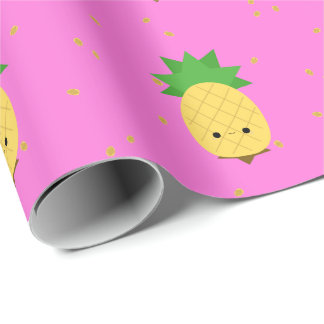 Sweet Pineapple Wrapping Paper