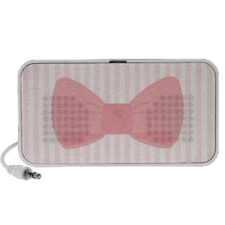 Sweet pink bow gift iPhone speakers