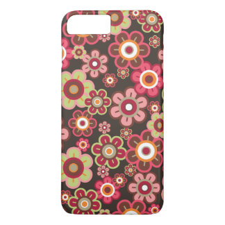 Sweet Pink Candy Daisies Flowers Girly Fun Casing iPhone 7 Plus Case