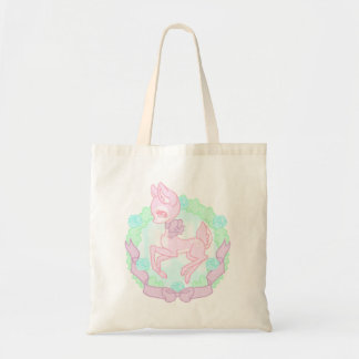Sweet Pink Deer Tote Budget Tote Bag