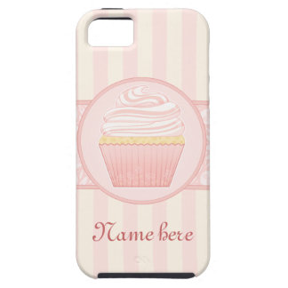 Sweet Pink Elegant Cupcake Case For The iPhone 5