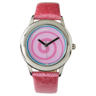 Sweet Pink Lollipop Watch