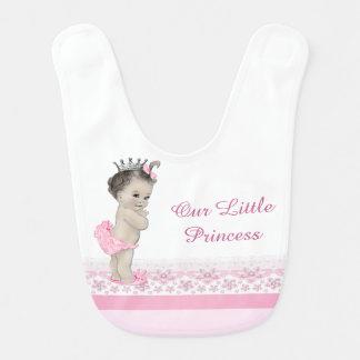 Sweet Pink Princess Bib