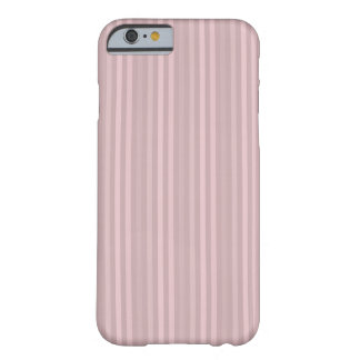Sweet Pink Vertical Stripes Pattern Barely There iPhone 6 Case