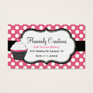 home bakery business cards business card printing zazzle uk. Black Bedroom Furniture Sets. Home Design Ideas
