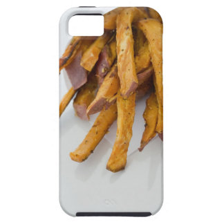 Sweet Potato fries in paper bag, close up, iPhone 5 Cover