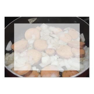 sweet potato onions frying card
