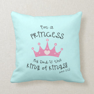 Sweet Princess Throw Pillow