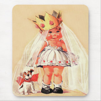 Sweet Princess. Valentine's Day Gift Mousepads
