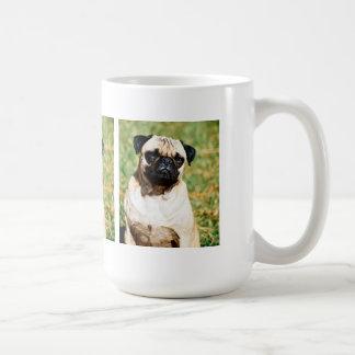 Sweet Pug Dog Photo Cards and Gifts Classic White Coffee Mug