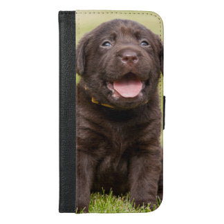 Sweet puppy dog iPhone 6/6s plus wallet case