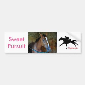 Sweet Pursuit by Posse Bumper Sticker